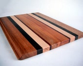 large beautiful natural colors reclaimed woods cutting board/serving tray