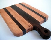 ready to ship reclaimed beautiful handled small herd/cutting board