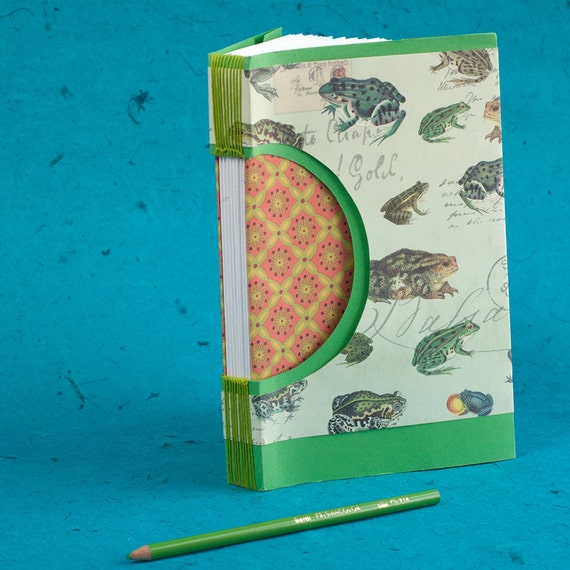 A Frog Invasion Blank Journal or Guest Book