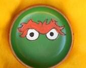 OSCAR Green Monster Food Safe Bowl