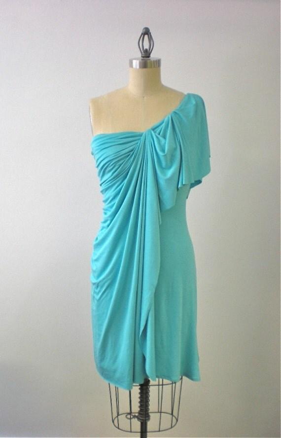 Queen Street Draped Jersey Dress by Carol Hannah
