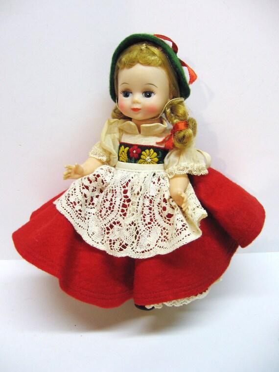 Vintage Madame Alexander International Doll By