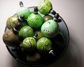 Shrunken Head gourds - Set of 3