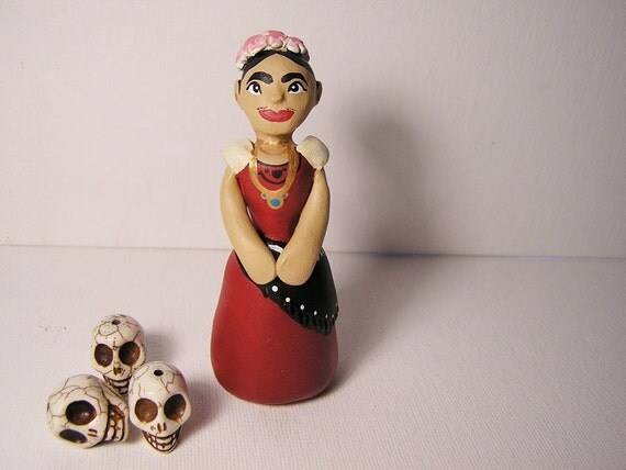 Claymates - My Little Historicals series - Frida Kahlo