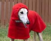 Dog Winter Coat with Drawstring Snood - Small Breeds