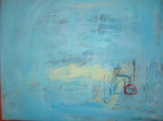 Reserved for Adam - SECRET 2 - Original Abstract Painting