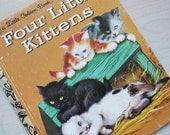 Four Little Kittens - Hardcover Binding - A Vintage Children's Edition
