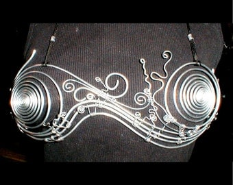 Deluxe Spiral Wire Metal Bra in all sizes