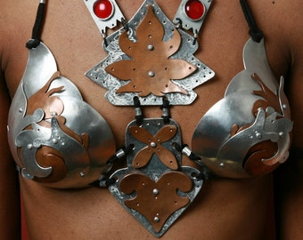 Vampire Queen Metal Bra