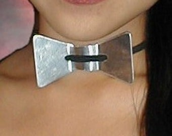 HeavyMetal BowTies-plain finish