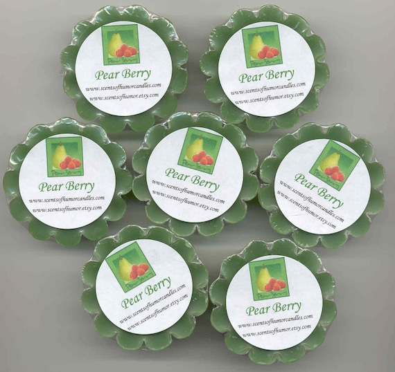 4 PEAR BERRY PEARBErRY BBW Type Dupe Tarts Melts Hand Made Highly Scented