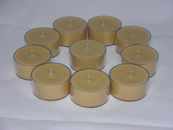 WILD MOuNTAIN HONEY Scented Soy Tea Lights - Gift Boxed - Hand Poured - Handmade In USA - Highly Scented - Set Of 6 - Beautiful Scent