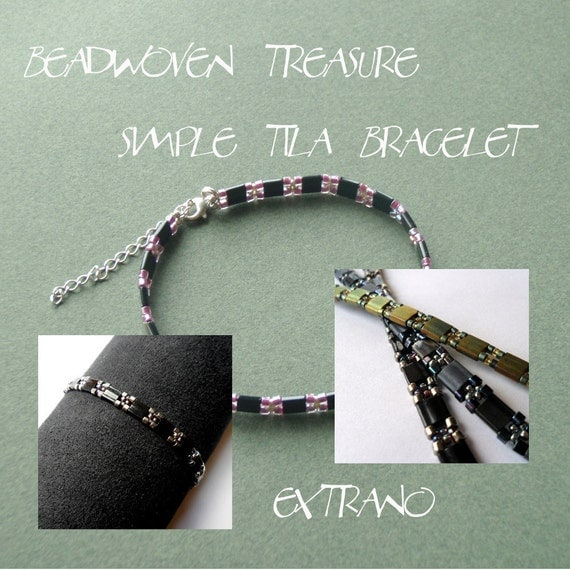 TUTORIAL - bracelet - SIMPLE TILA - immediate download