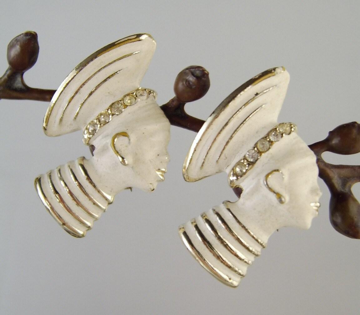 Women S Hat Pins: Vintage Pins African Women Zulu Hat