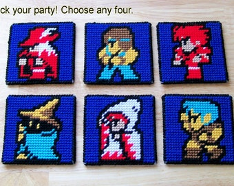 Final Fantasy Coaster Set (4)