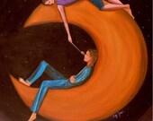Best Friends  II (Archival Print 8 x 10), Romance Series