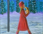The Winter Companion (Archival Print 8 x 10 ), Artist Diary Series