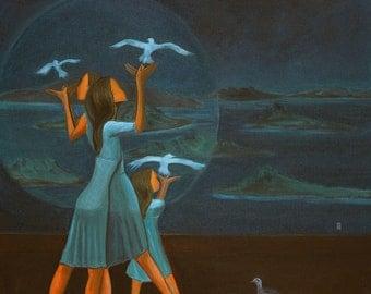 Imagination II (Archival Print 8x10), Artist Diary Series