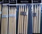 NEW Size US 13 Bamboo DPN Knitting Needles 7 inch Double Pointed