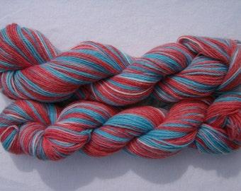 Navajo - Hand-painted Alpaca / Wool 200 yds. per skein yarn