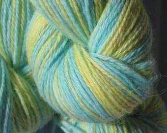 Surfin' USA- Hand-painted Alpaca / Wool yarn 200 yds. per skein