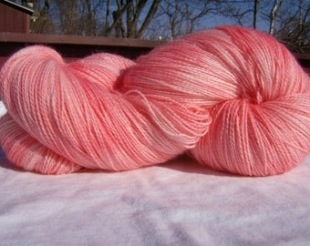 Girlie- Hand-painted Superwash Merino Wool Yarn 450 yards