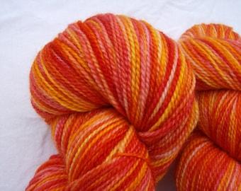 Maple Leaves - Hand-painted Superwash Merino Wool 275 yds.