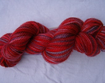 Berry Season - Hand-painted Superwash Merino Wool 153 yds. Fingering Weight