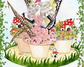 Fairy Fairy Quite Contrary A3 Print
