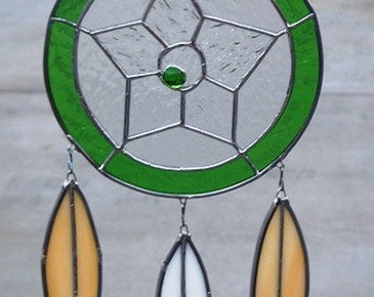 Stained Glass  Dream Catcher