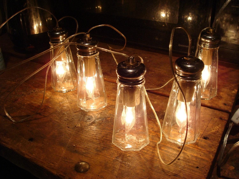 5 salt shaker lamp