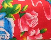 Oriental Peony Fabric, 1 metre