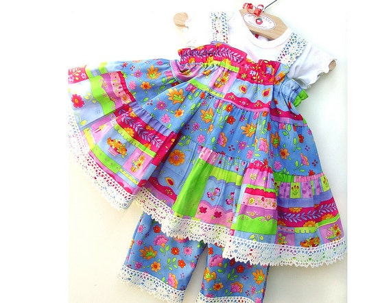 3-Piece Baby Girl Outfit Baby Girl Clothes 1st Birthday Party Outfit Cotton Party Dress Colorful Baby Clothes Baby Girl First Birthday Set