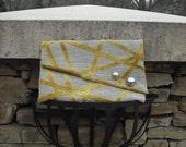 Asymmetric Velvety Cool Envelope Clutch FREE SHIPPING