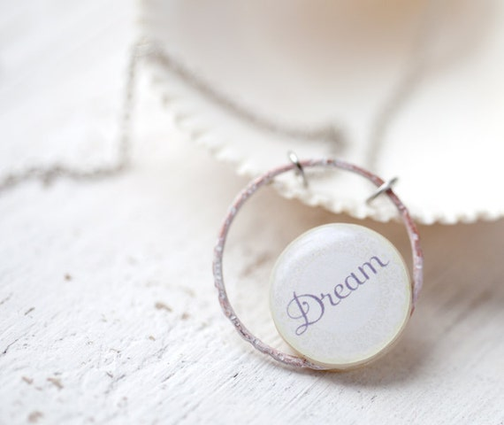 Personalized jewelry - Dream necklace for her (N011)