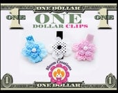 ONE DOLLAR CLIPS and under 2 hair clips