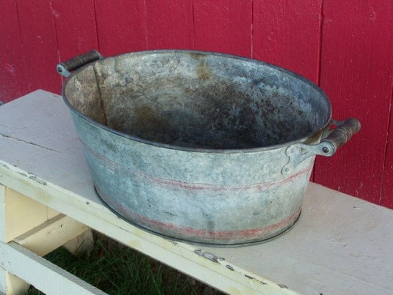Wash Tub - Child Size - Galvanized Storage Solutions