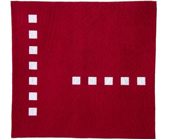 Bold quilt pattern