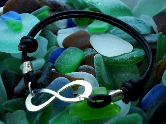 Infinity to Eternity All Leather All the Time Bracelet