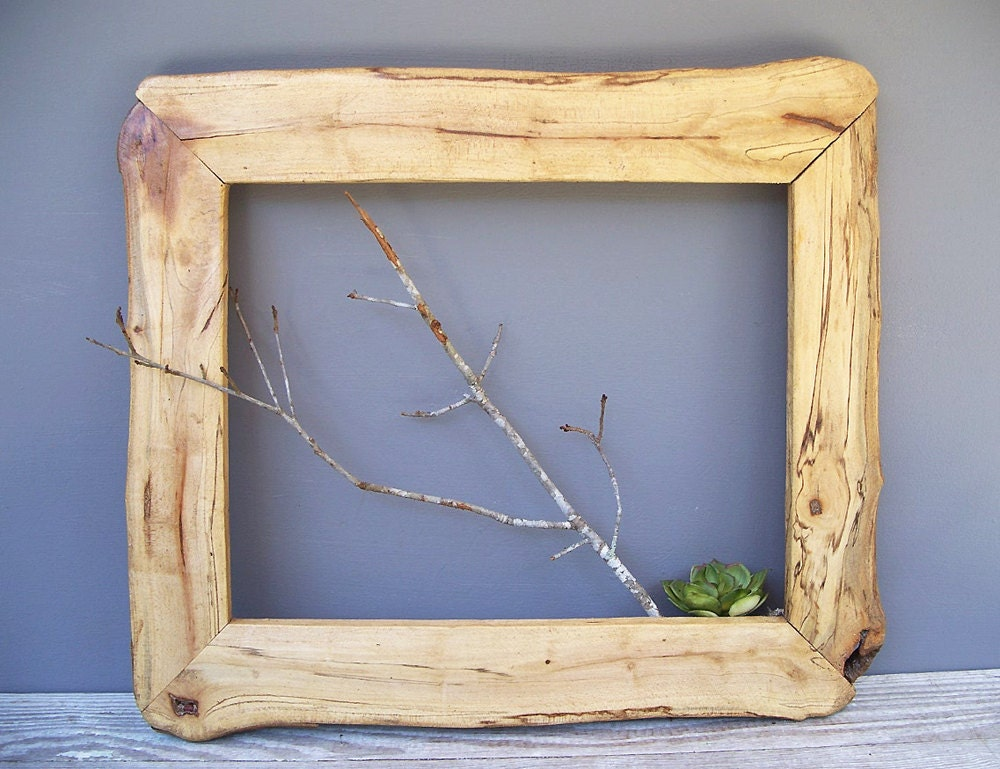 The Chapman barnwood picture frame | Shop Rustic Frames ... |Rustic Wooden Picture Frame