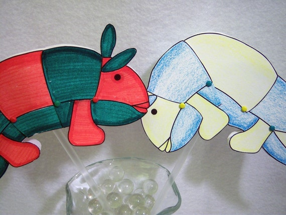 Wallywog Paper Doll or Puppet