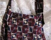 Vintage Necktie Shoulder Bag Small