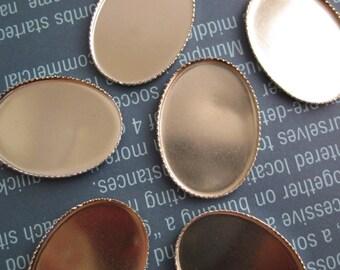 Silver 40 mm x 30 mm Bezel Settings (3)