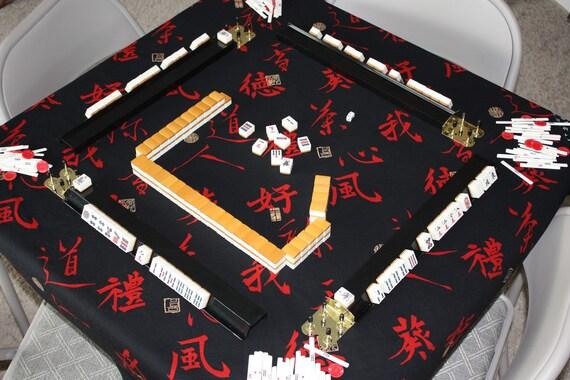Mah Jongg Tablecloth