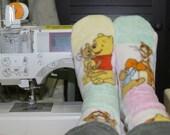 Fleece Socks Pooh and Tigger
