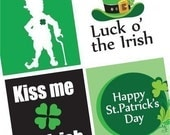 Scrabble Tile Images - St. Patty's Day -  Irish - Celtic Images - St.Patrick's Day- Buy 2 Get 1 Free