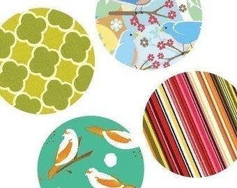 Vivid Pattens - (1x1) One Inch Round Pendant Images- Digital sheet -BUY 2 GET 1 FREE