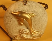Timmy Woods Bag Gold Dolphin