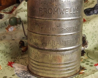 Bromwell's Three Cup Flour Sifter