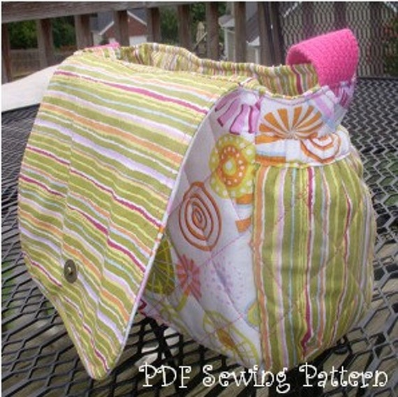 Quilted Baby Doll Diaper Bag Pdf Sewing Pattern By Gjrdesigns